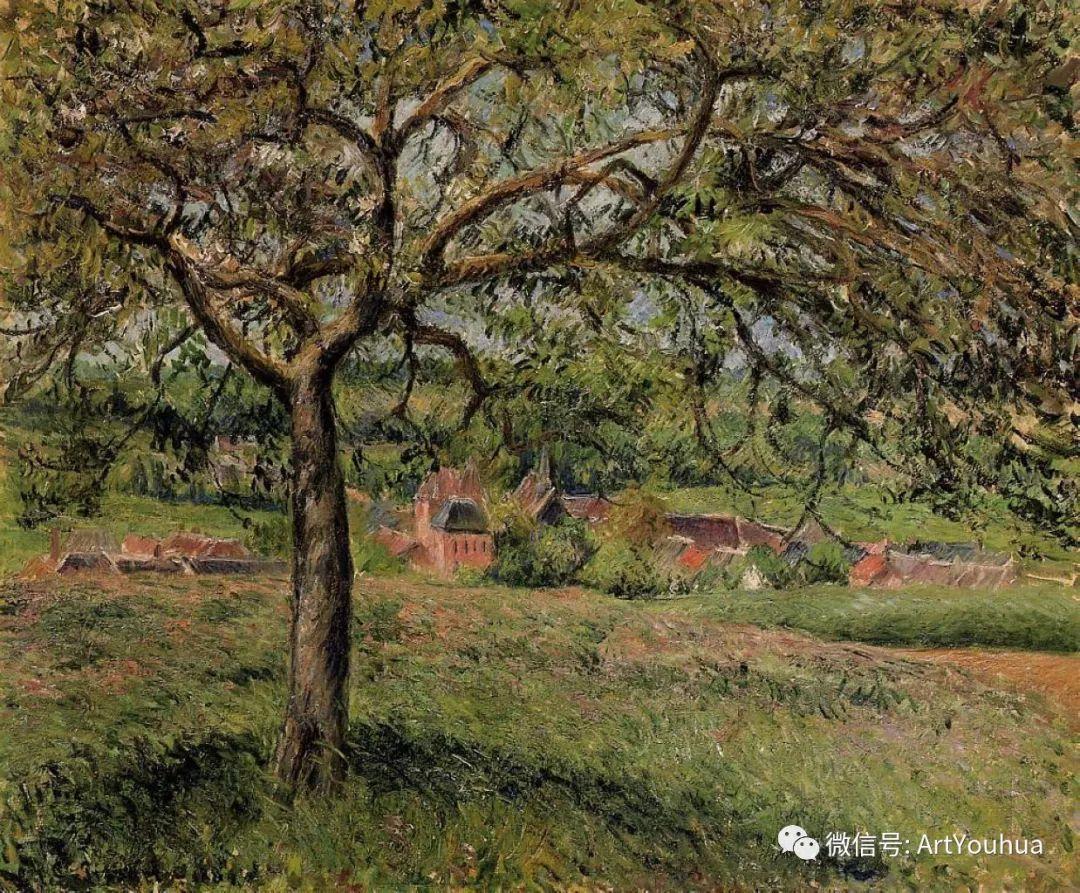 145图 法国印象派画家毕沙罗作品集一插图19