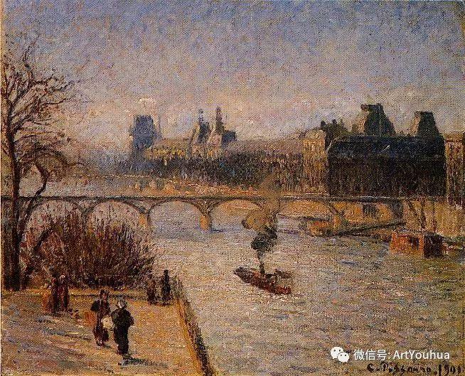 145图 法国印象派画家毕沙罗作品集一插图21