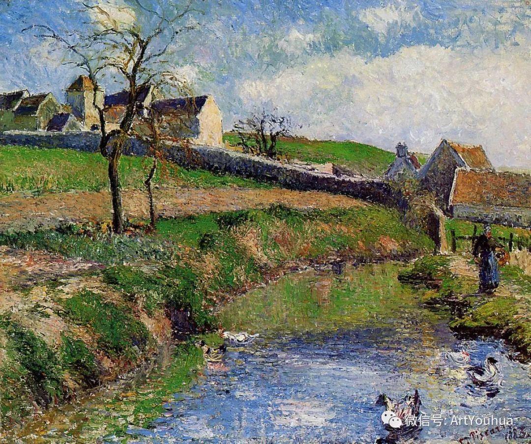 145图 法国印象派画家毕沙罗作品集一插图25