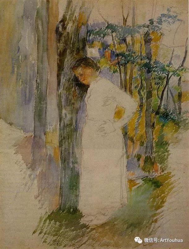 145图 法国印象派画家毕沙罗作品集一插图27