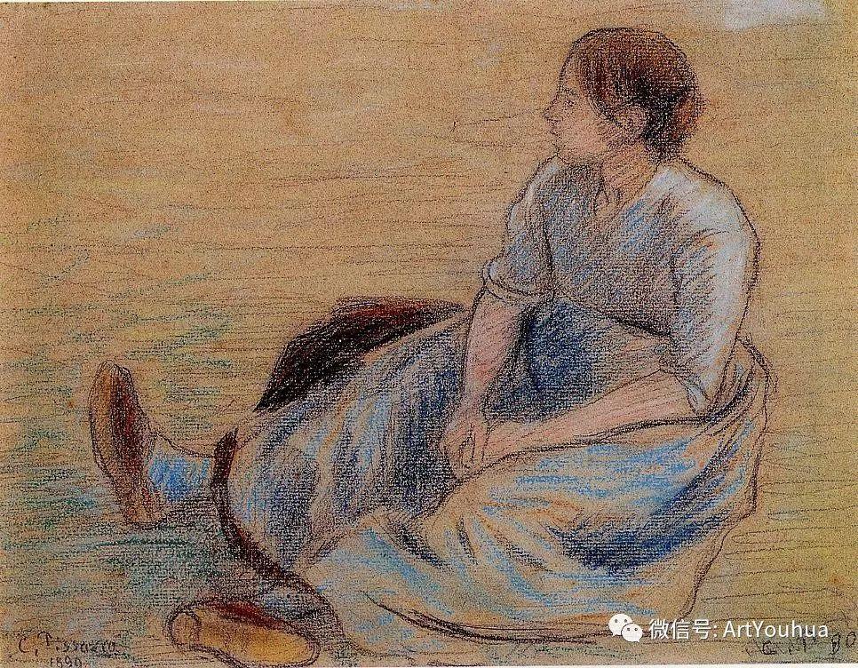145图 法国印象派画家毕沙罗作品集一插图29