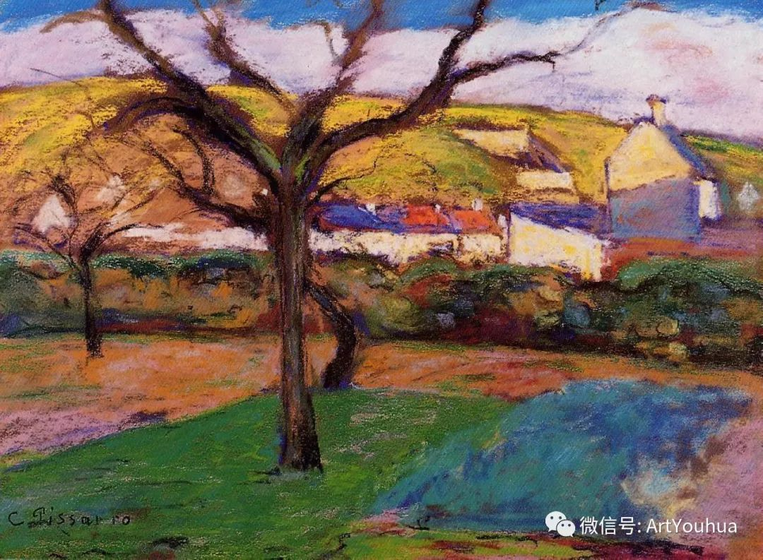 145图 法国印象派画家毕沙罗作品集一插图39