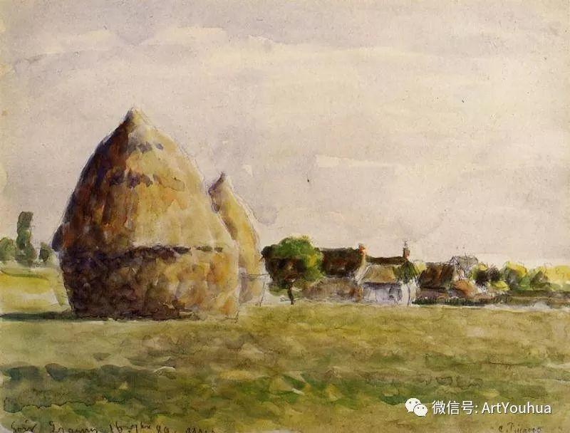 145图 法国印象派画家毕沙罗作品集一插图41