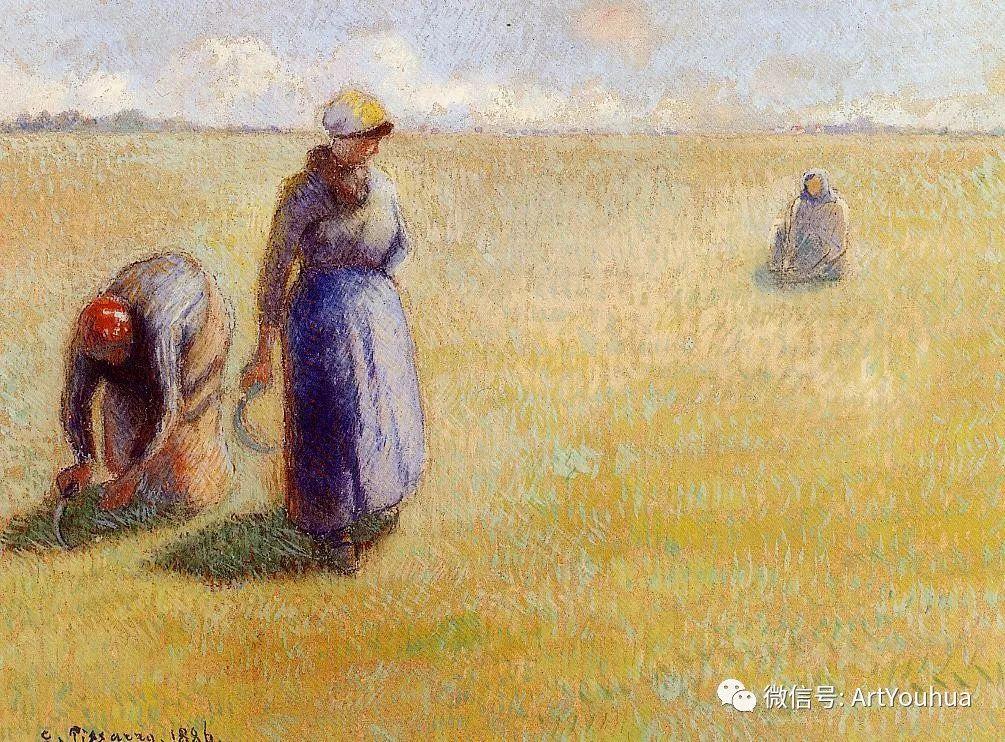 145图 法国印象派画家毕沙罗作品集一插图49