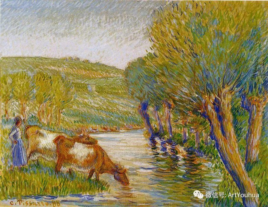 145图 法国印象派画家毕沙罗作品集一插图53