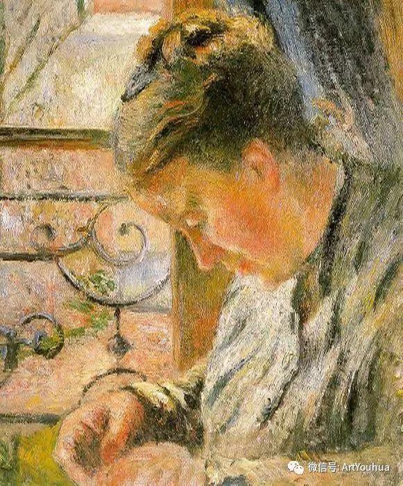 145图 法国印象派画家毕沙罗作品集一插图55