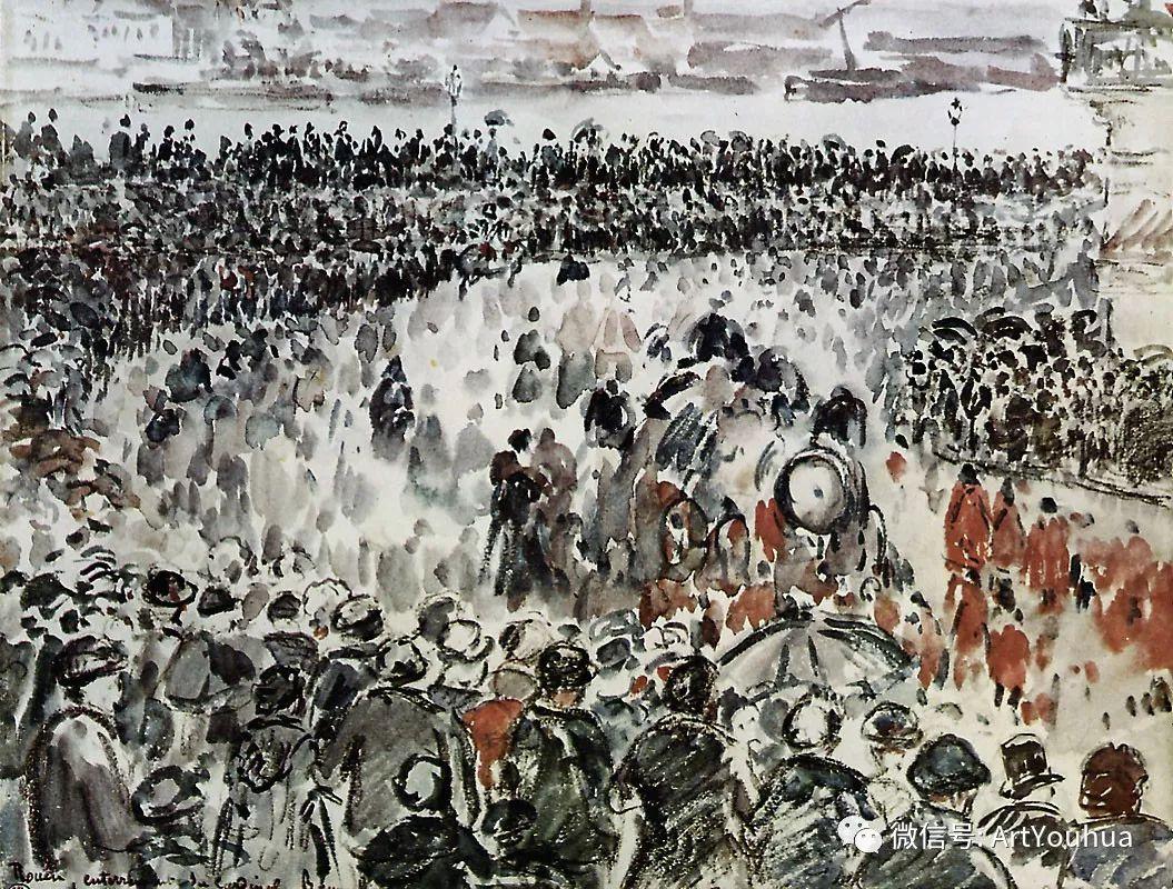 145图 法国印象派画家毕沙罗作品集一插图67