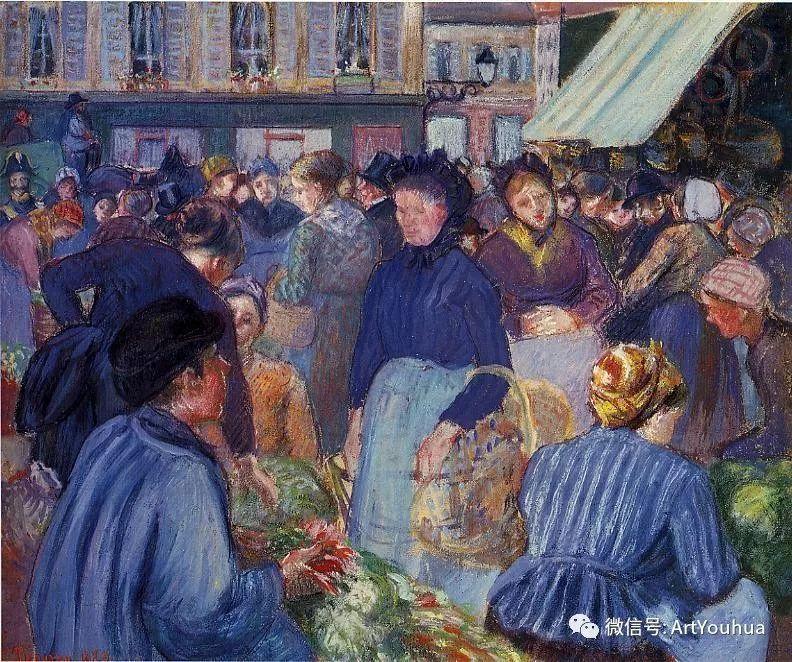145图 法国印象派画家毕沙罗作品集一插图75