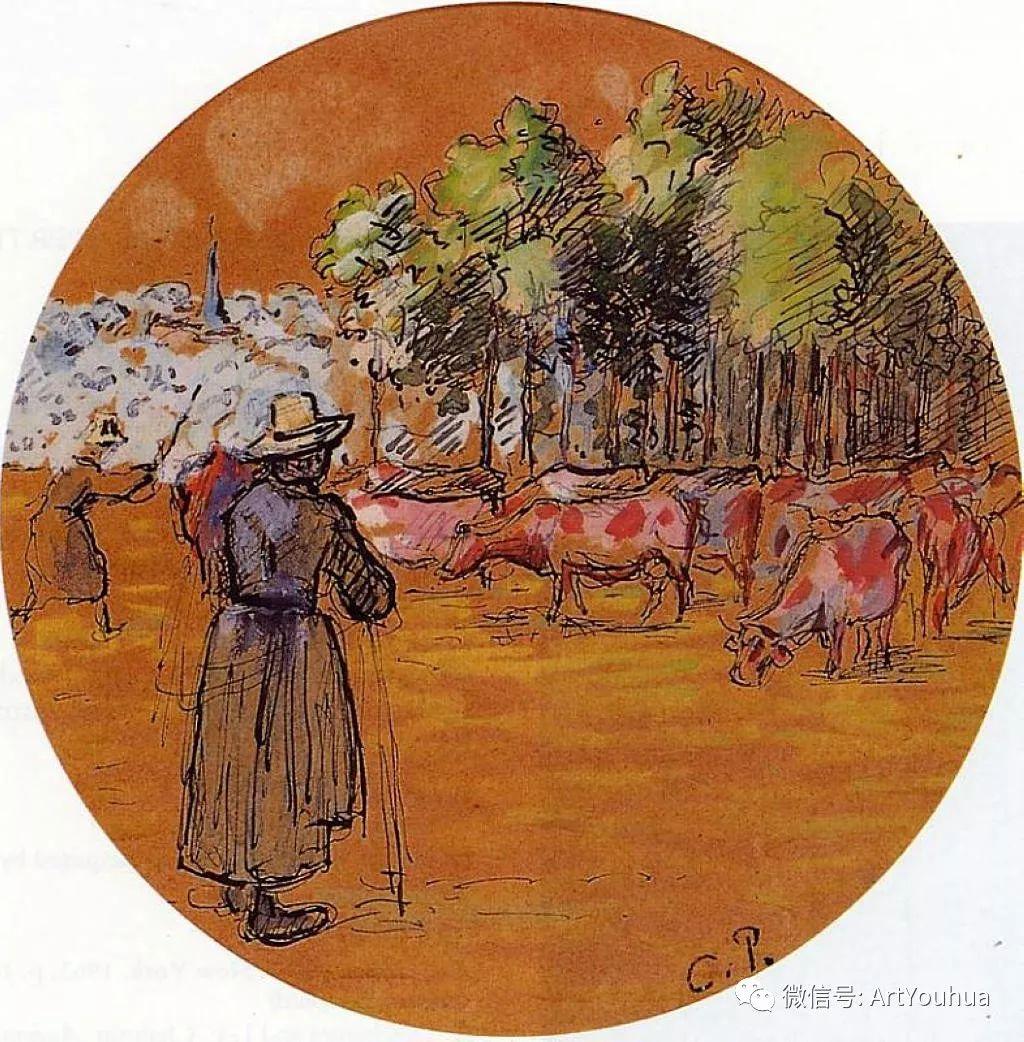 145图 法国印象派画家毕沙罗作品集一插图87