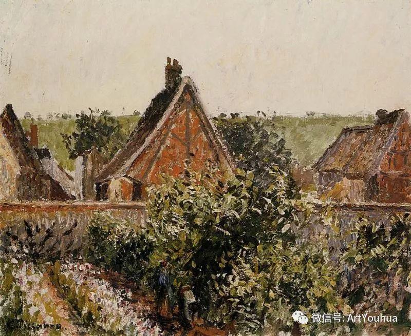 145图 法国印象派画家毕沙罗作品集一插图89