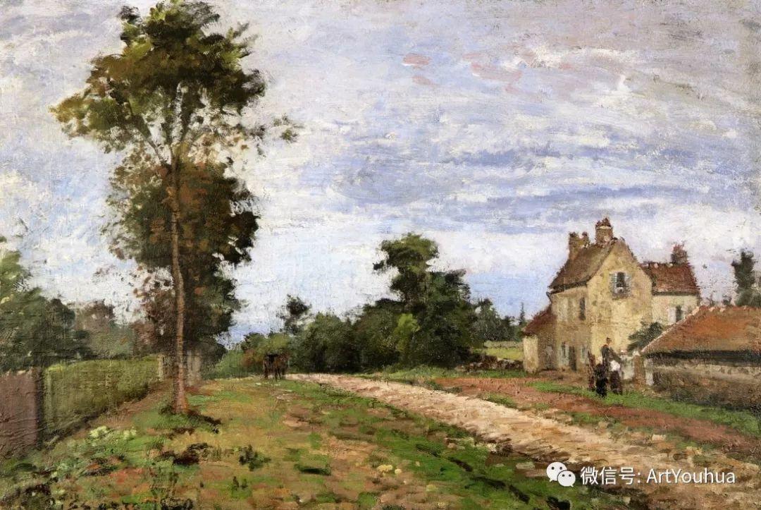 145图 法国印象派画家毕沙罗作品集一插图91