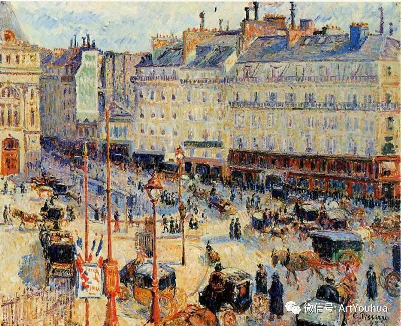 145图 法国印象派画家毕沙罗作品集一插图95