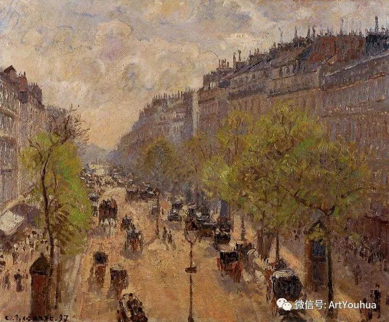 145图 法国印象派画家毕沙罗作品集一插图103