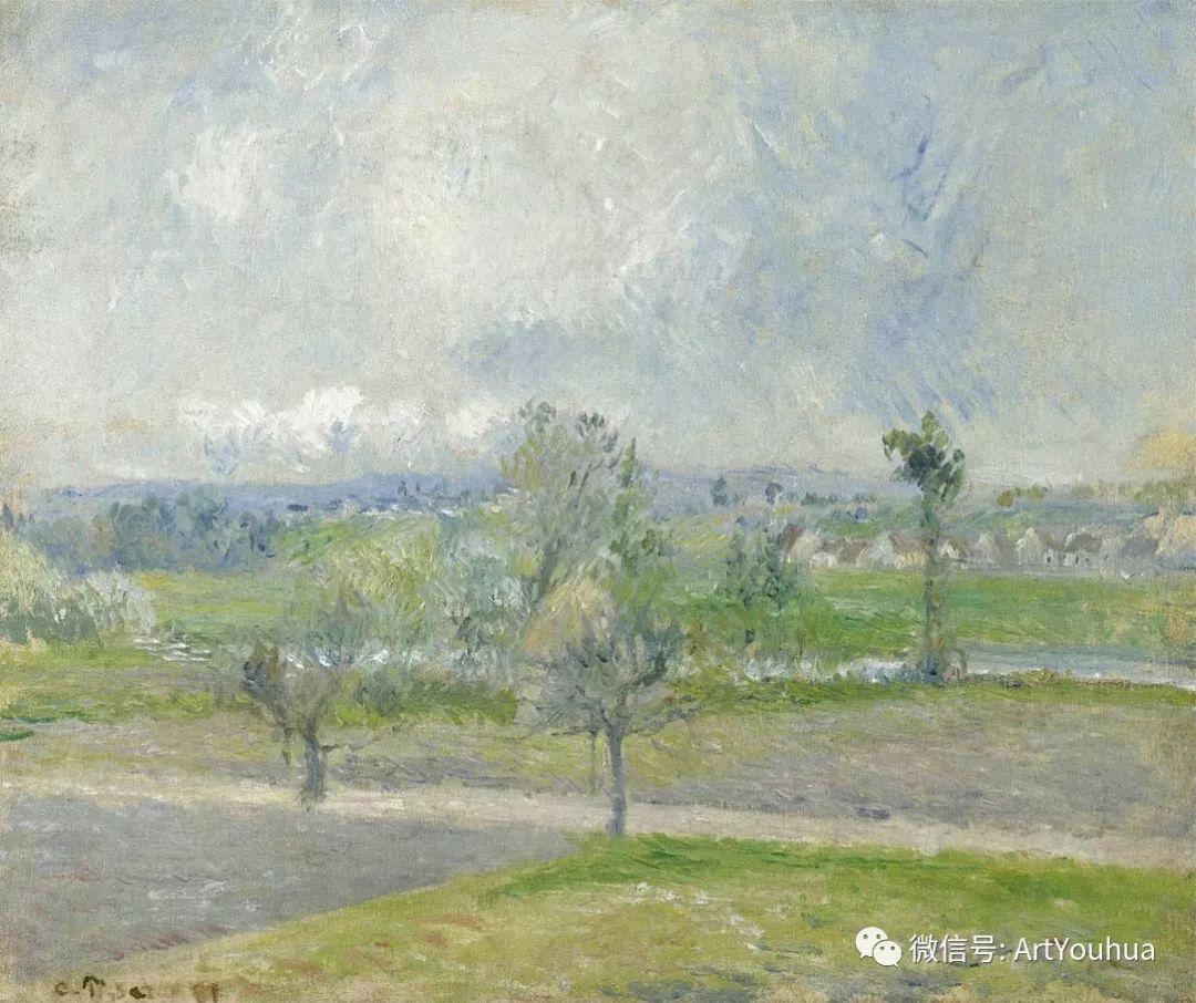 145图 法国印象派画家毕沙罗作品集一插图109