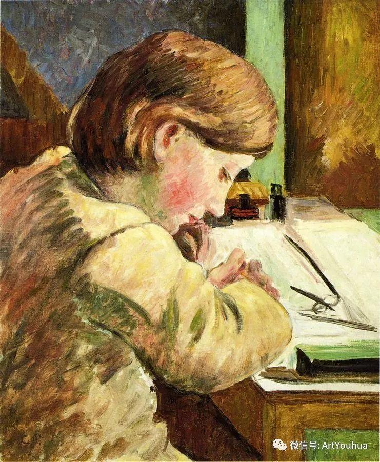 145图 法国印象派画家毕沙罗作品集一插图113