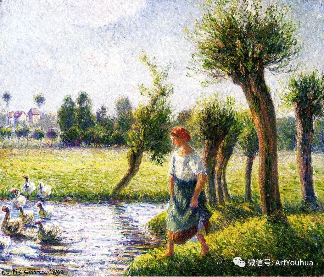 145图 法国印象派画家毕沙罗作品集一插图119