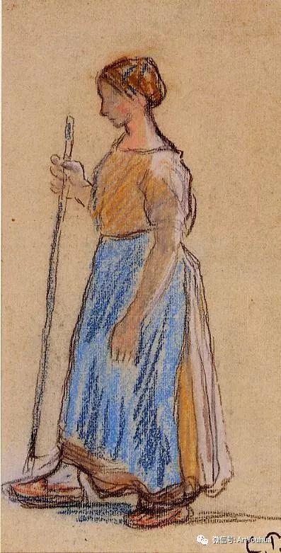 145图 法国印象派画家毕沙罗作品集一插图121