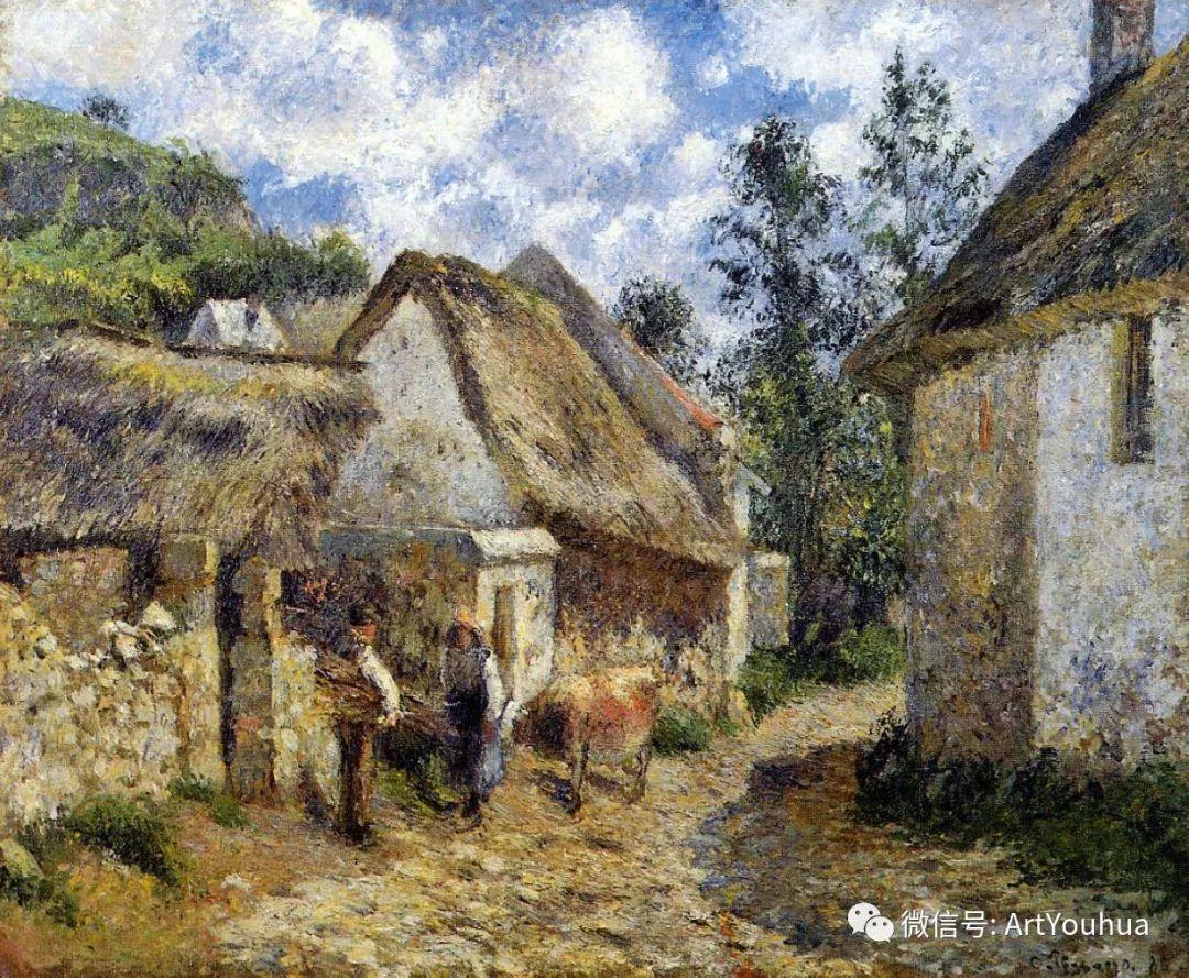 145图 法国印象派画家毕沙罗作品集一插图129