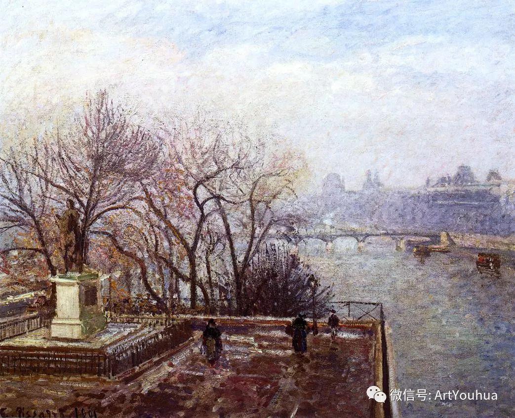 145图 法国印象派画家毕沙罗作品集一插图131