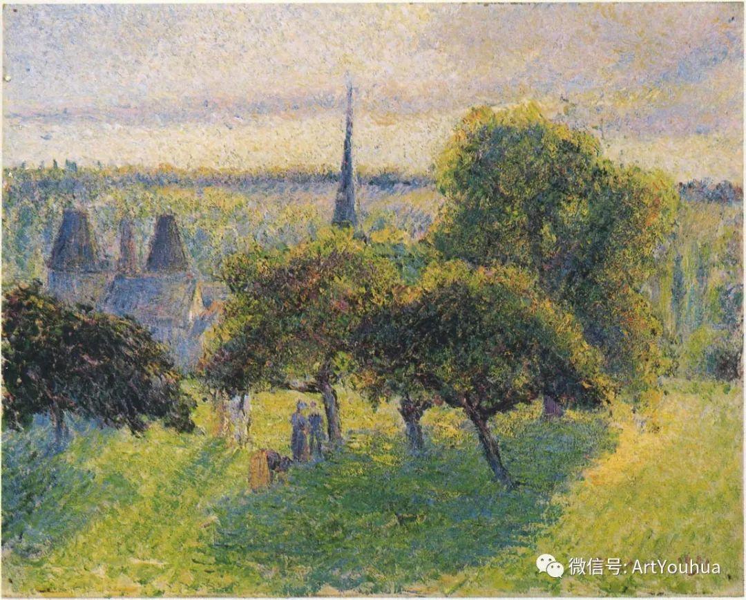 145图 法国印象派画家毕沙罗作品集一插图133