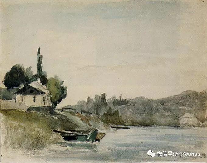 145图 法国印象派画家毕沙罗作品集一插图135