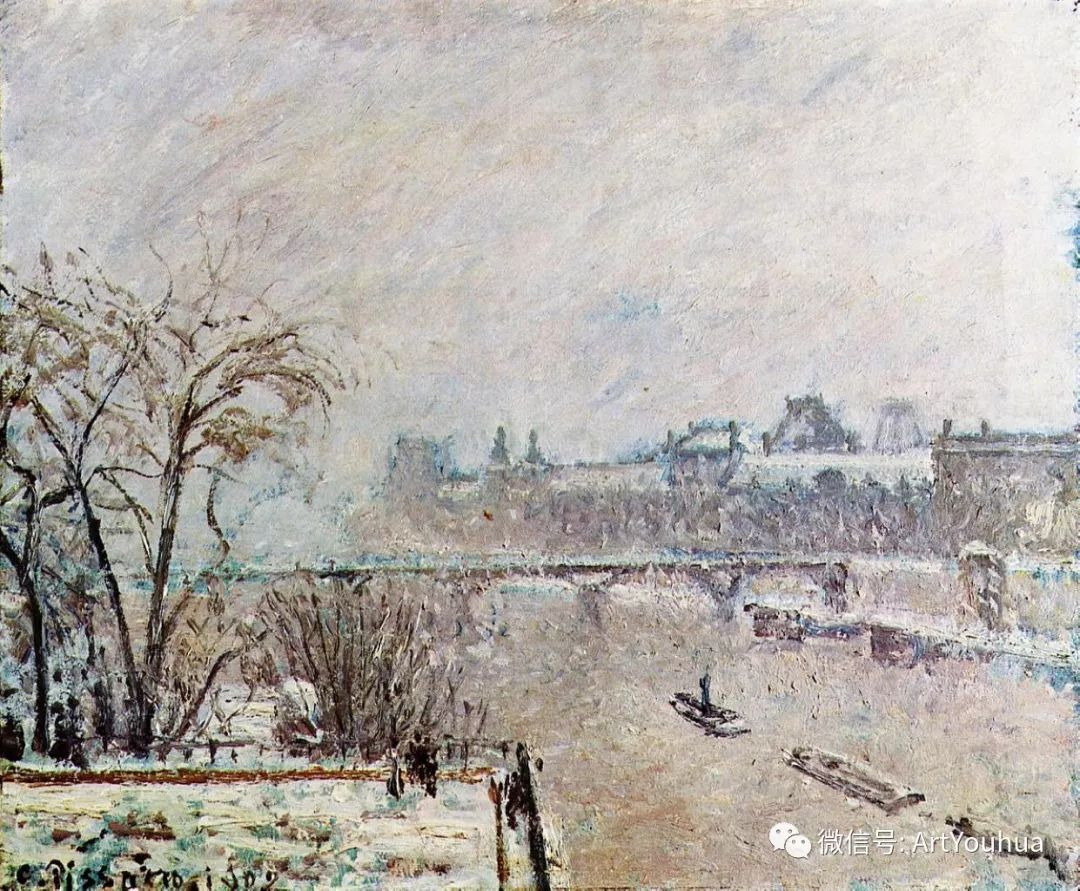 145图 法国印象派画家毕沙罗作品集一插图137