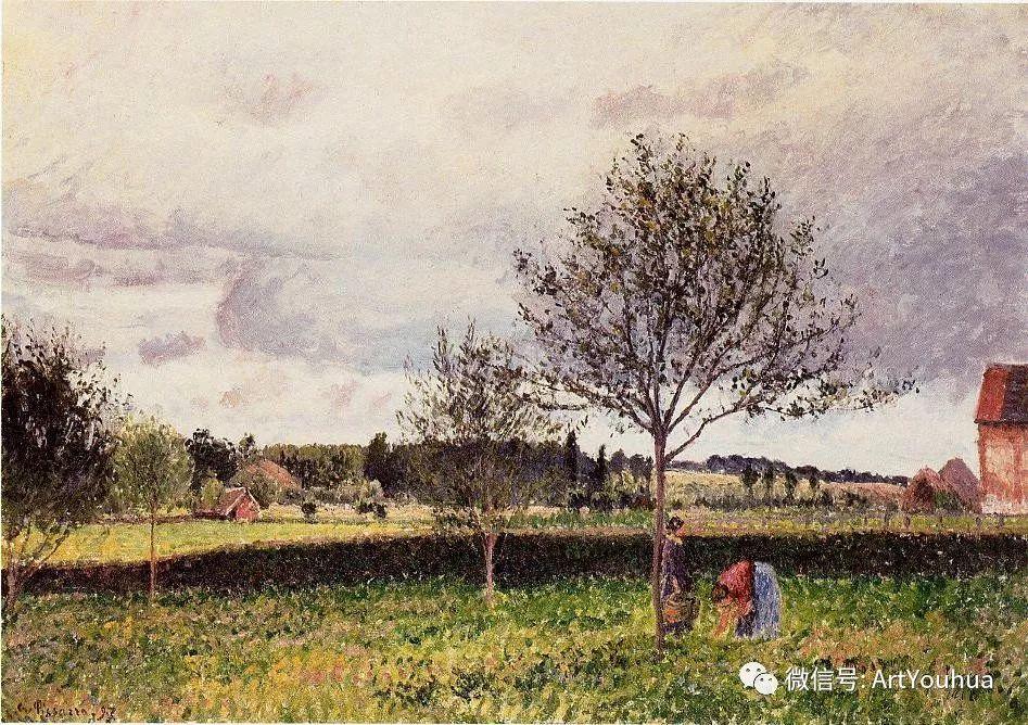 145图 法国印象派画家毕沙罗作品集一插图139