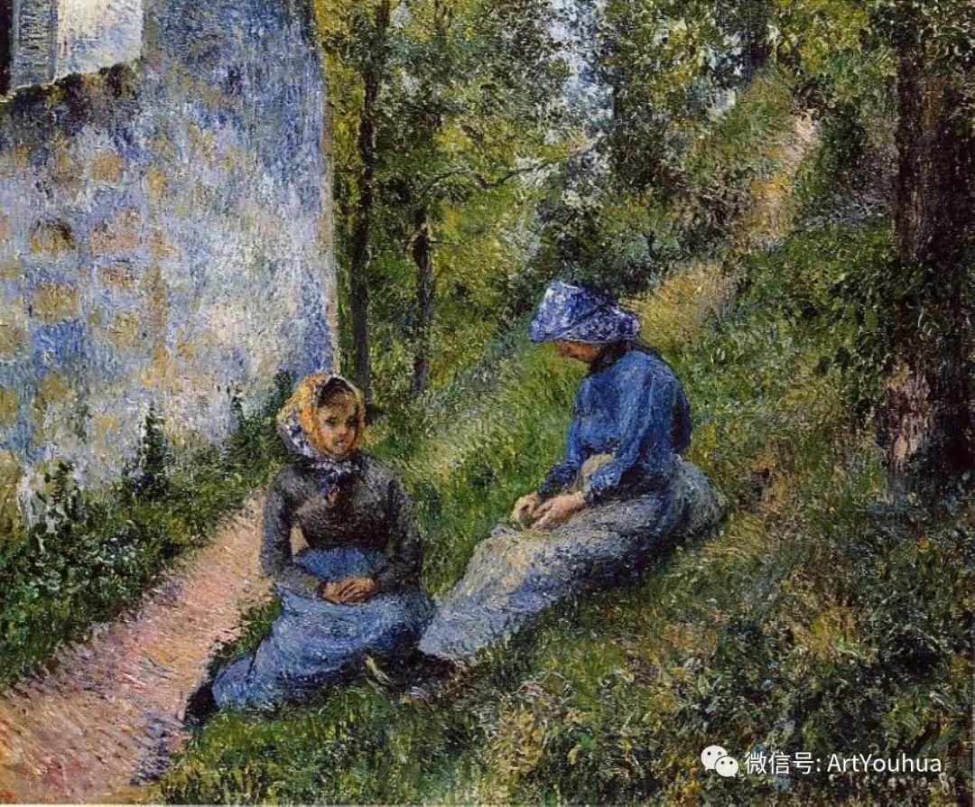 145图 法国印象派画家毕沙罗作品集一插图143