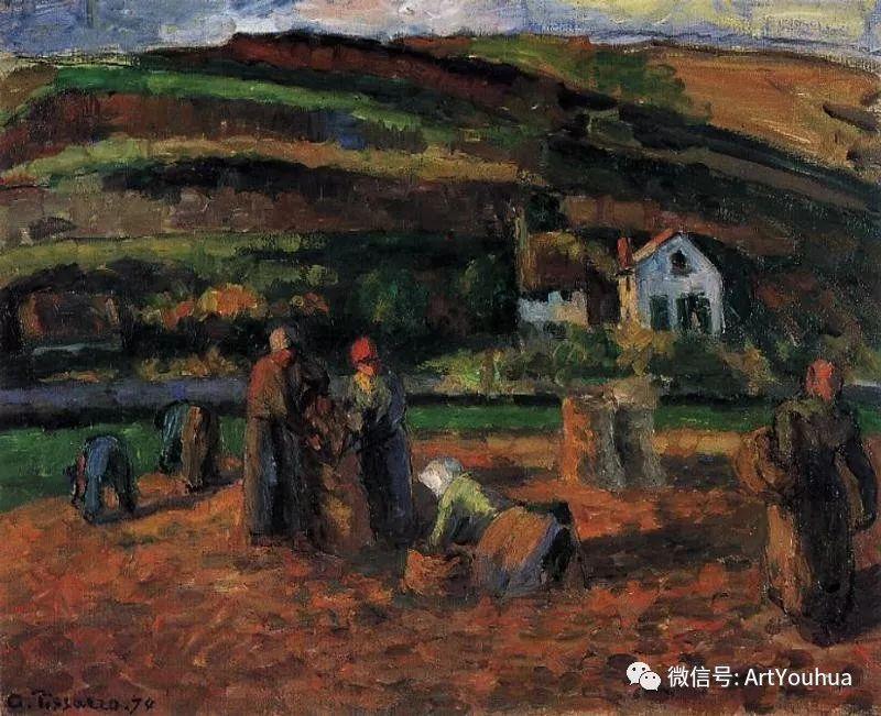 145图 法国印象派画家毕沙罗作品集一插图151