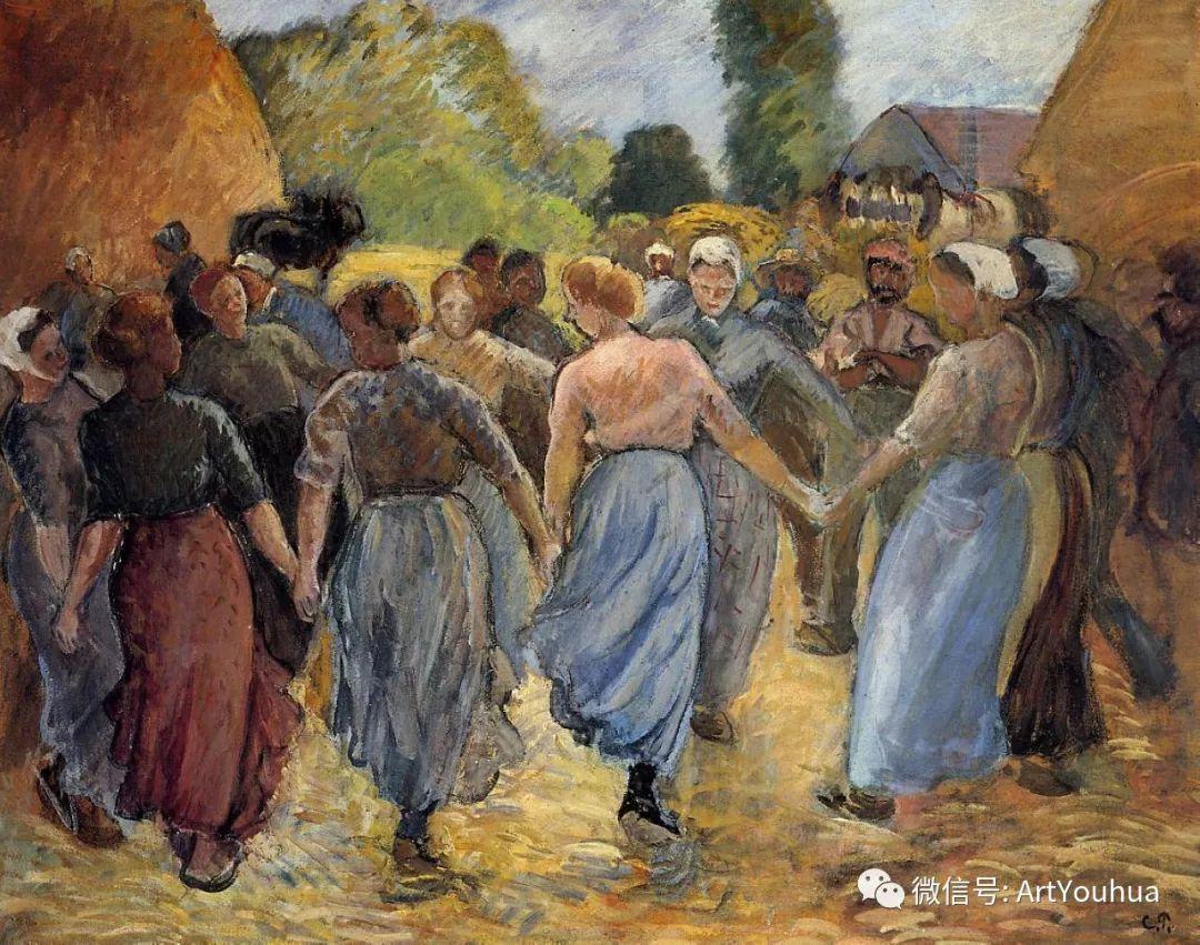 145图 法国印象派画家毕沙罗作品集一插图153