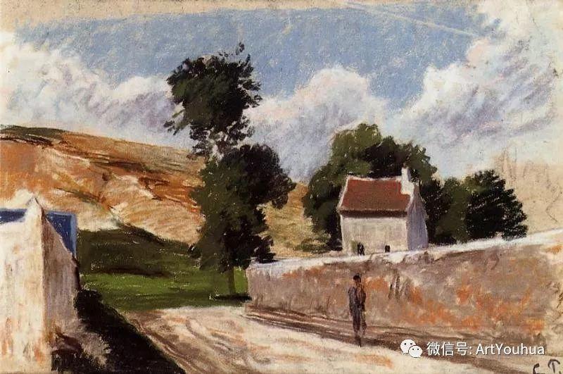 145图 法国印象派画家毕沙罗作品集一插图155