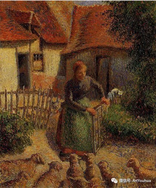 145图 法国印象派画家毕沙罗作品集一插图157
