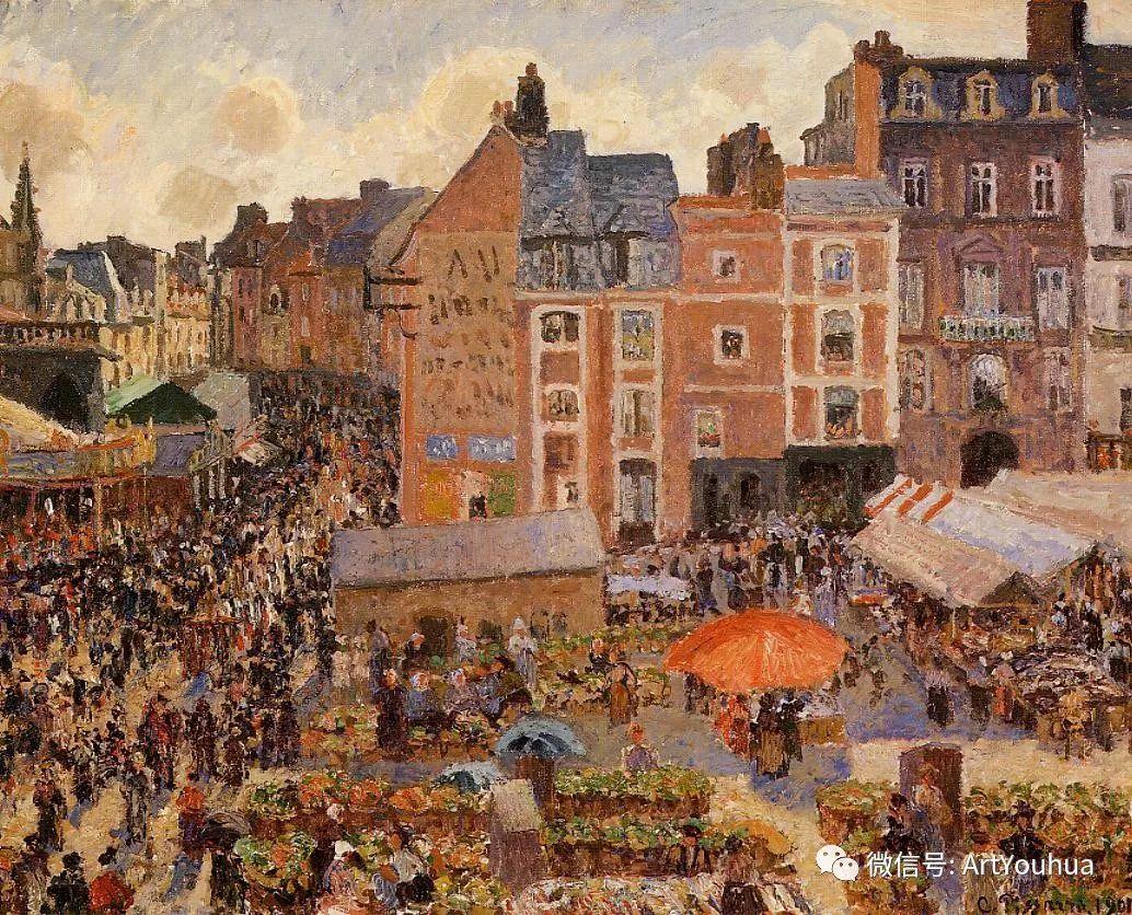 145图 法国印象派画家毕沙罗作品集一插图161