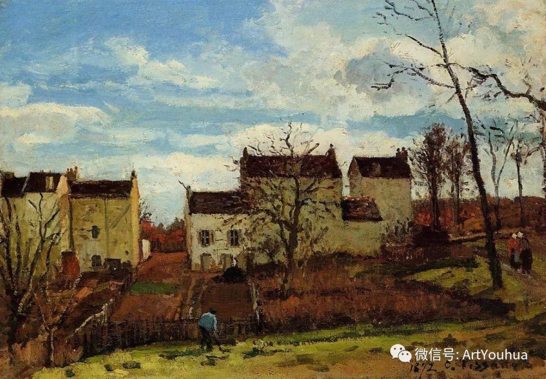 145图 法国印象派画家毕沙罗作品集一插图167