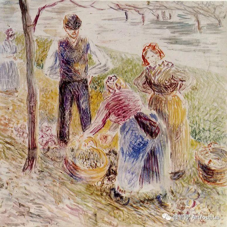 145图 法国印象派画家毕沙罗作品集一插图183