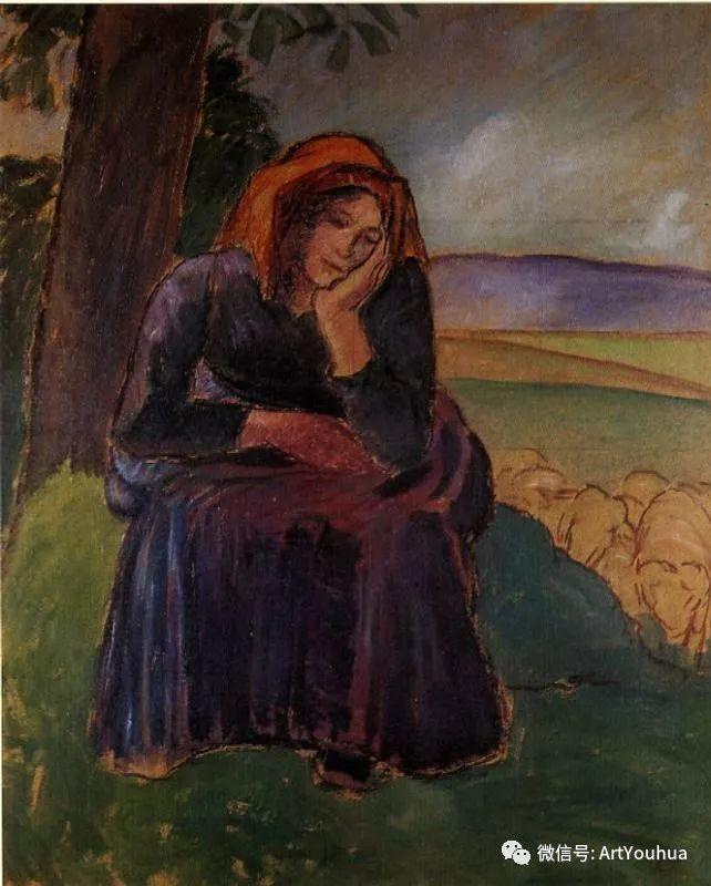 145图 法国印象派画家毕沙罗作品集一插图185