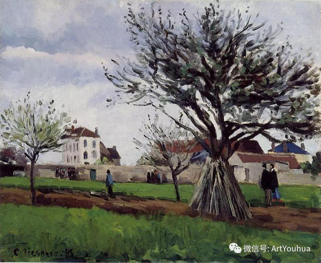 145图 法国印象派画家毕沙罗作品集一插图191