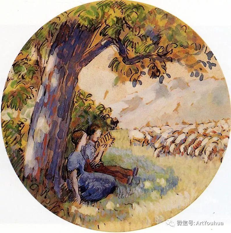 145图 法国印象派画家毕沙罗作品集一插图203
