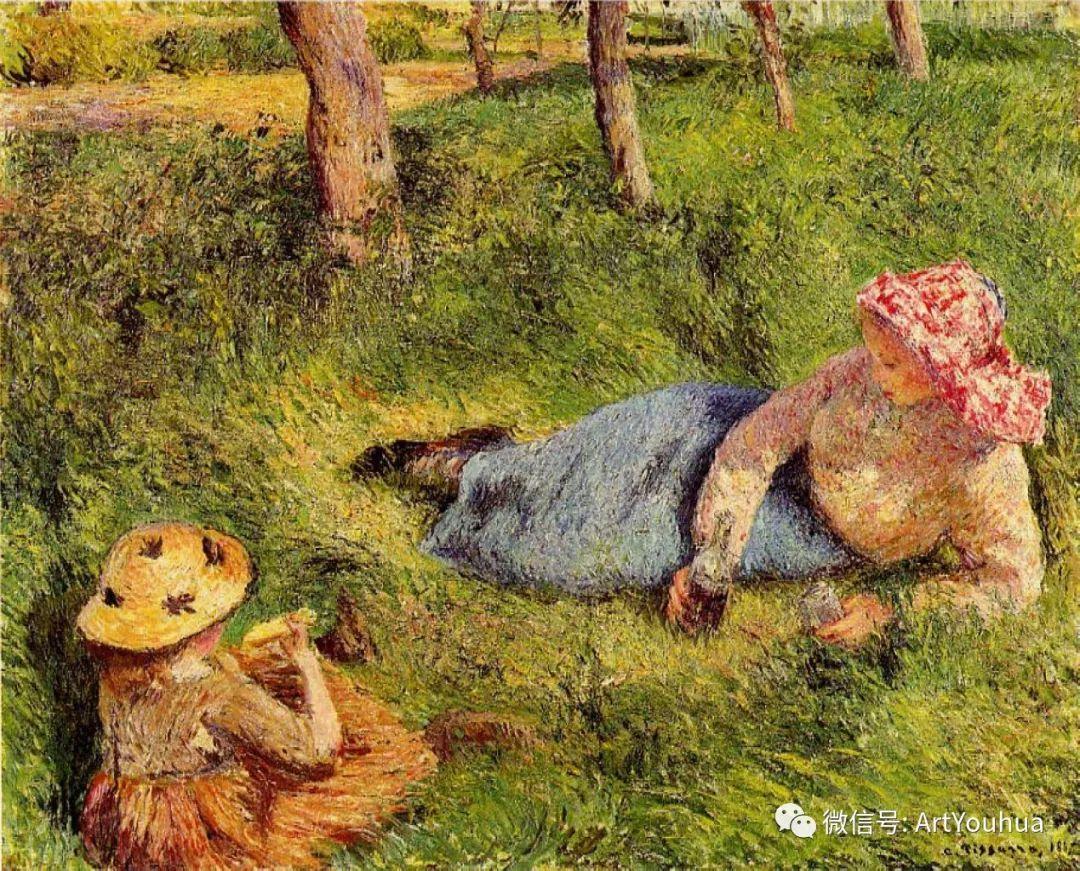 145图 法国印象派画家毕沙罗作品集一插图215