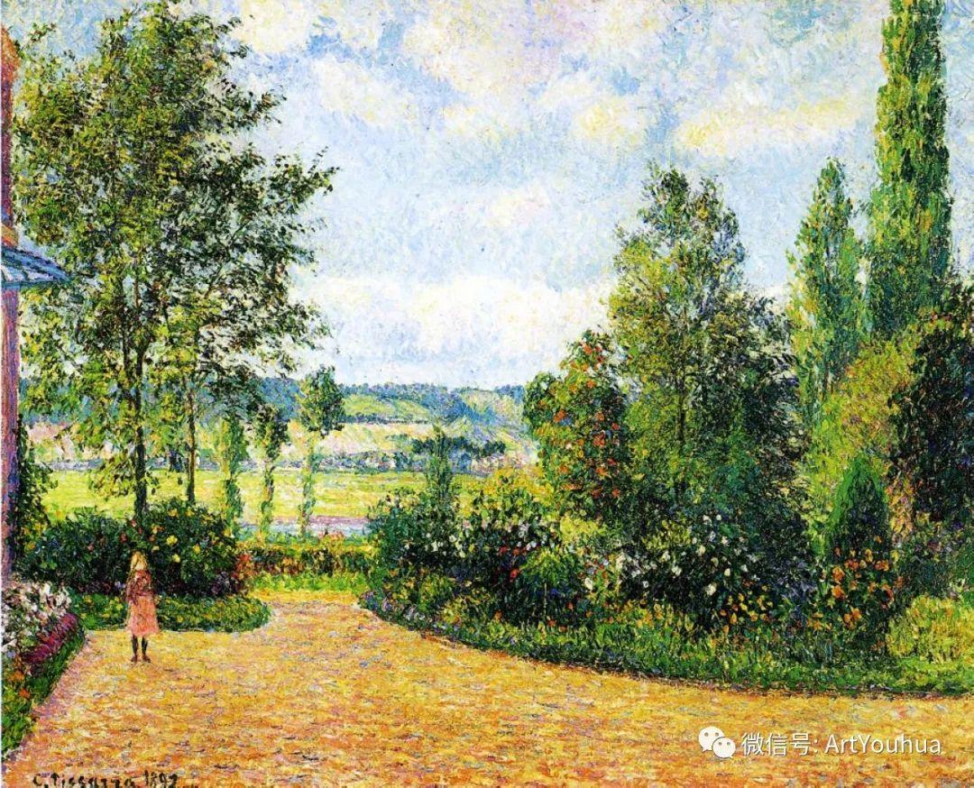145图 法国印象派画家毕沙罗作品集一插图217