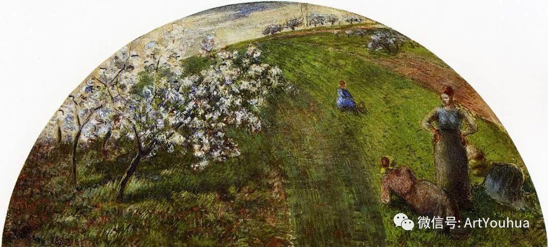 145图 法国印象派画家毕沙罗作品集一插图219