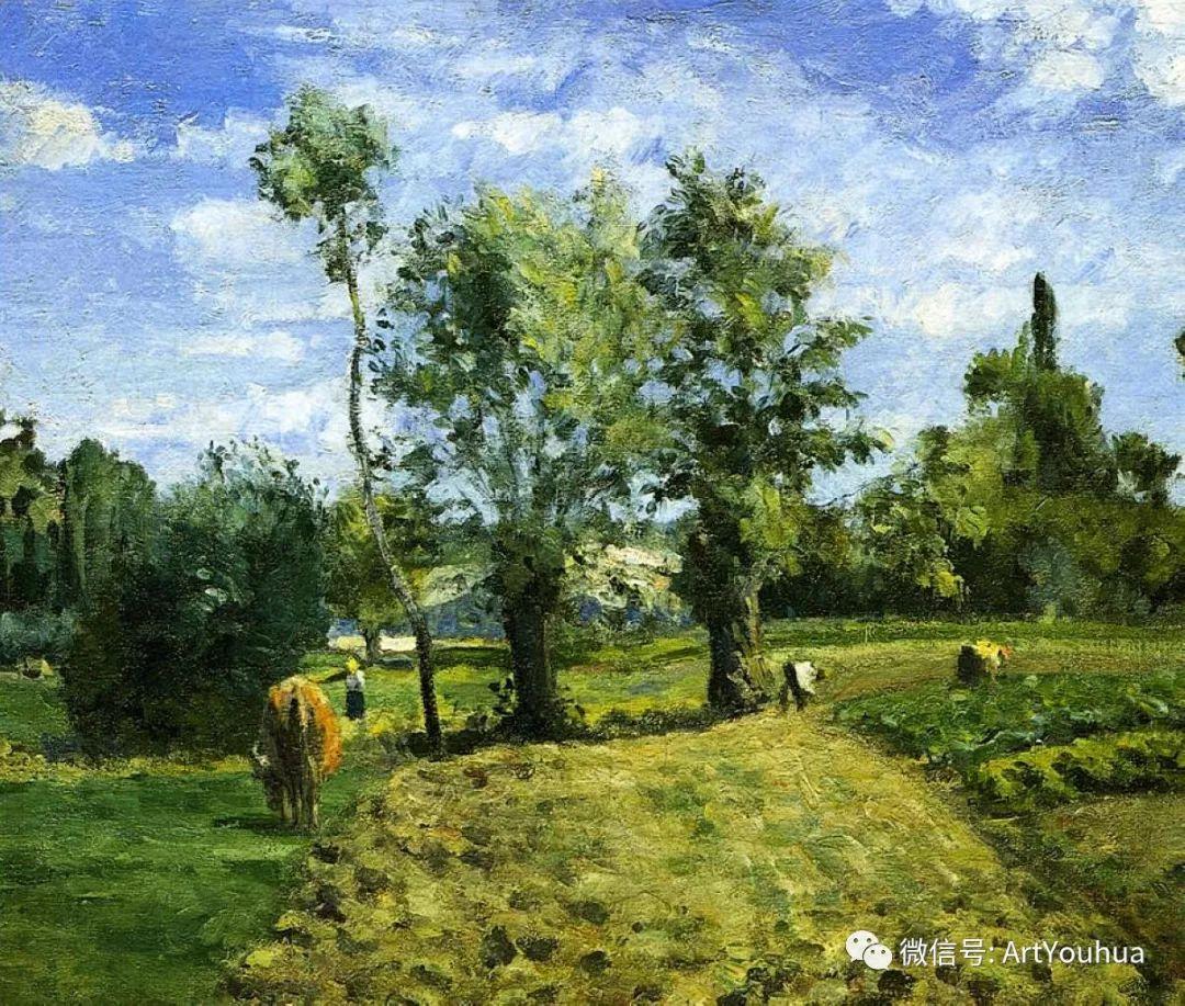 145图 法国印象派画家毕沙罗作品集一插图225