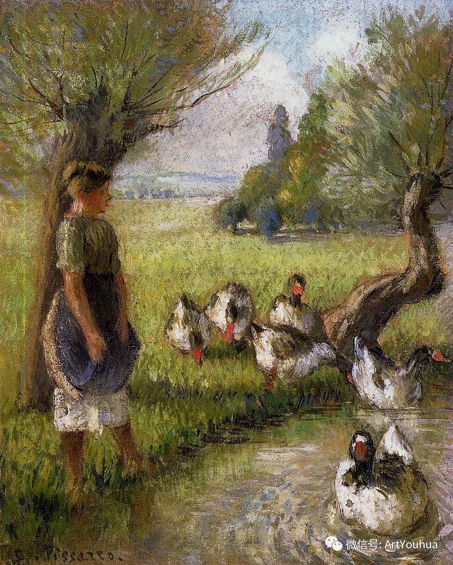 145图 法国印象派画家毕沙罗作品集一插图247