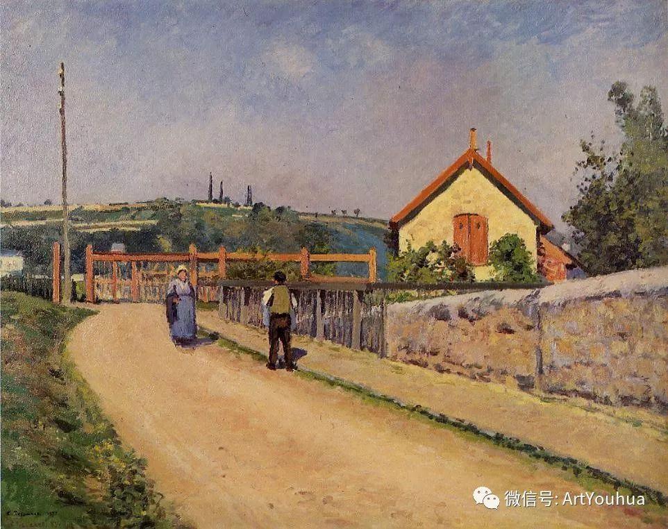 145图 法国印象派画家毕沙罗作品集一插图251