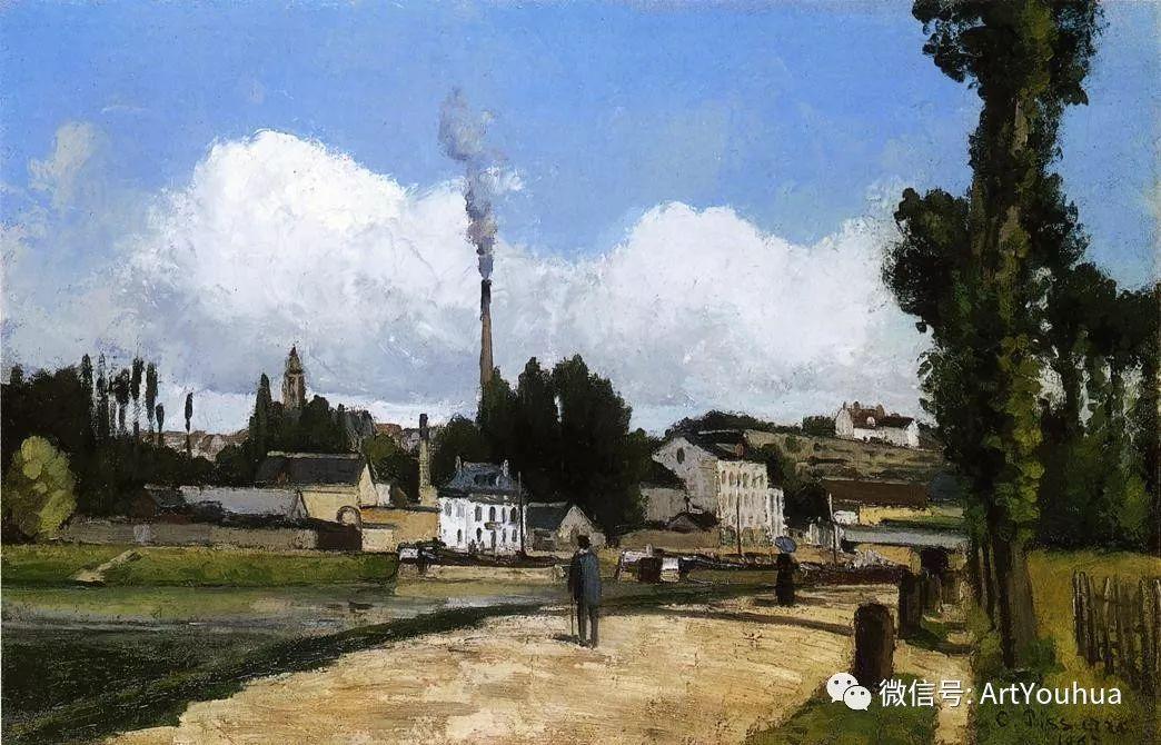 145图 法国印象派画家毕沙罗作品集一插图253