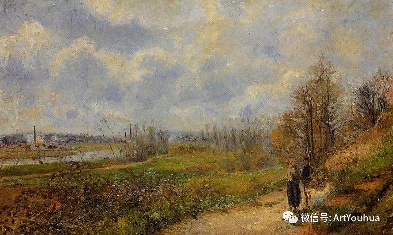 145图 法国印象派画家毕沙罗作品集一插图255