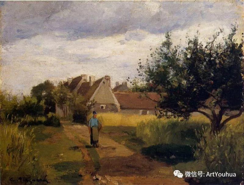 145图 法国印象派画家毕沙罗作品集一插图265