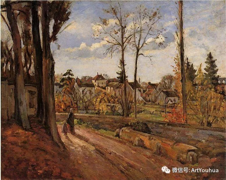 145图 法国印象派画家毕沙罗作品集一插图275