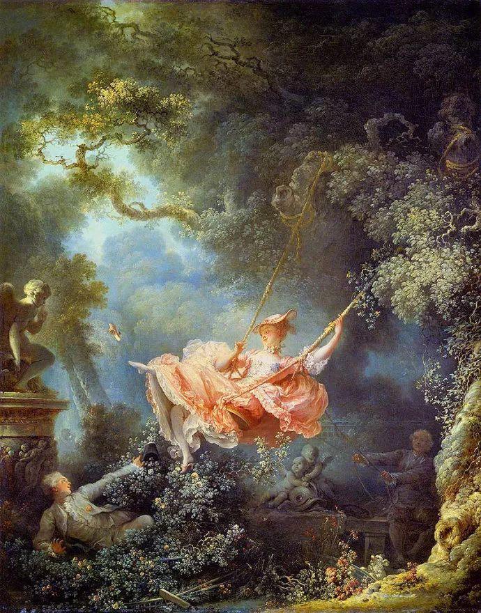法国肖像艺术真正先驱者弗拉戈纳尔(1732-1806)插图