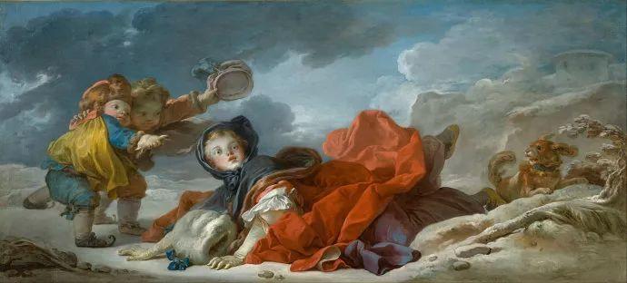 法国肖像艺术真正先驱者弗拉戈纳尔(1732-1806)插图3